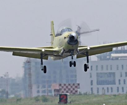 'Made in India' trainer aircraft makes inaugural flight