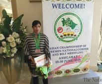 Ambreen seeks govt help to feature in Asian Judo in Sri Lanka