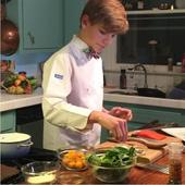 MasterChef Junior US winner Logan Guleff shows how beetroots can be a fun ingredient