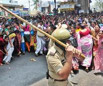 Bengaluru garment workers riot over PF norms, burn three buses
