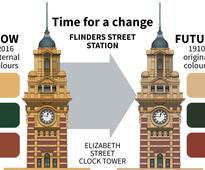 Hold the mustard - Flinders Street Station gets new colour scheme