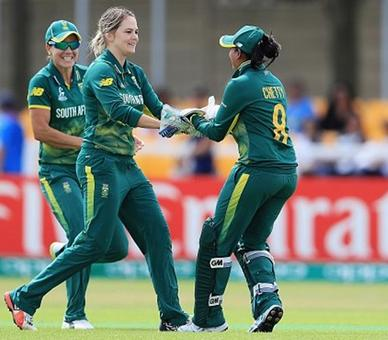 Women's World Cup: India's winning run ends with heavy loss to South Africa