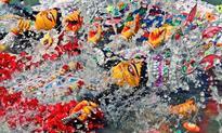 Maha Dashami: Revellers bid adieu to Goddess Durga