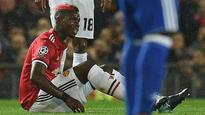 Manchester United's Paul Pogba faces bench time after hamstring injury
