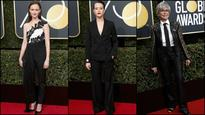 Golden Globes 2018: Here are some red carpet jewels in a sea of black