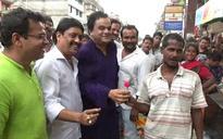 West Bengal: TMC adopts Gandhigiri and Dadagiri to counter Left's strike call