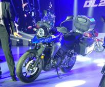 Suzuki V-Strom 250cc adventure motorcycle  Photos, Specs, Details