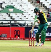 Dazzling Du Plessis trumps spirited Sri Lanka