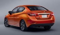 New-gen Nissan Sunny Rendered