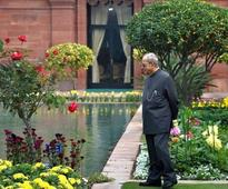 Perks of a former president: A sprawling house for Mr Mukherjee in Lutyens Delhi with a library