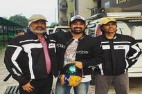 Rannvijay Singh's bike trip to Leh with dad and Nagesh Kukunoor