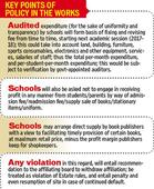 HT Follow-up: Finally, UT admn drafts policy for regulation of school f...