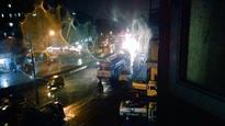 #MumbaiRains: City experiences light showers, local trains come to a halt