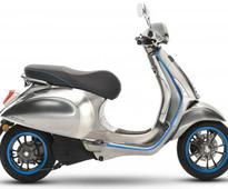 Vespa unveils production model of its upcoming electric scooter