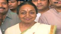 Fighting Presidential elections with confidence: Meira Kumar
