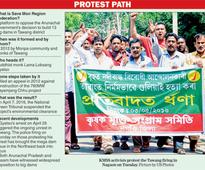 Assam protests police firing