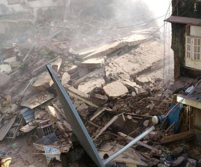 Mumbai building collapse: 3 dead, 11 rescued, 25 trapped