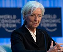 IMF chief Christine Lagarde urges eurozone to back Greece debt relief
