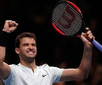 Dimitrov beats Goffin to win ATP Finals