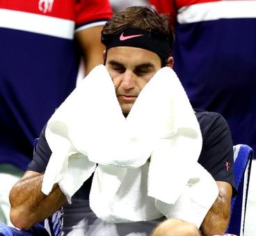 What caused Federer's downfall against del Potro