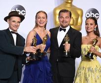 DiCaprio, Larson, Rylance, Vikander to present at Oscars