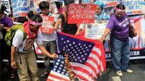 Philippines: People protest 'Dump Trump' in Manila ahead of ASEAN summit