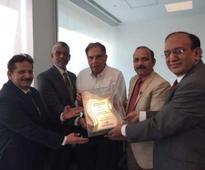 Ratan Tata presented ICFA Lifetime Achievements Award 2016