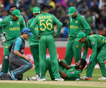 Pakistan's Riaz ruled out of Champions Trophy