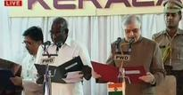 CPM leader MM Mani takes oath as Kerala minister