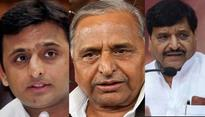 Samajwadi Party feud: day-long political activities in Lucknow and Delhi