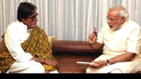 From PM Modi to Prez Kovind India's top leaders tweet to wish Amitabh Bachchan on his 75th birthday