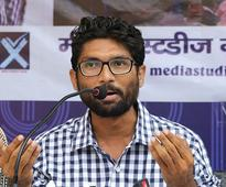 Gujarat Assembly Elections 2017: Vehicle in Jignesh Mevani's convoy attacked, he blames BJP