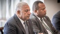 Fiji's Frank Bainimarama and Prime Minister John Key 'let bygones be byones' after diplomatic talks