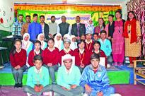 ABVP felicitates meritorious students at DPS Leh