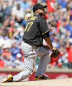Lefty homers in 4th doom Liriano, Bucs in 6-2 loss to Texas