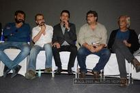 Anurag Kashyap, Sudhir Mishra and Tigmanshu Dhulia meet for Premier of Manoj Bajpayee's short film Taandav