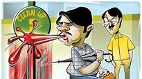 Stop spitting in college campuses: AICTE