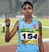 Pudukottai athlete scores golden double