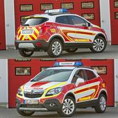 Opel emergency vehicles for the police