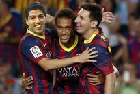 Epic clash as Barca, Madrid lock horns