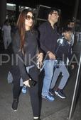 Airport Diaries: Sonali Bendre And Her Family Head Back Home After Holidaying In London
