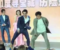 Jackie Chan grooves to Punjabi number at Shanghai Festival