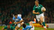 Fitzgerald out of Ireland tour