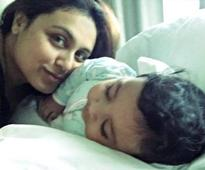 ADORABLE: Rani Mukerji SURPRISES everyone by sharing the FIRST LOOK of Adira (There's a letter too!)