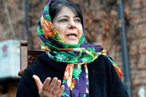 Mehbooba Visits Victims' Families; Seeks Public Help to End Violence