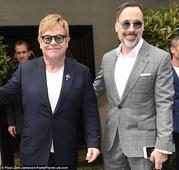Sir Elton John compares husband David Furnish to John Lennon's wife Yoko Ono