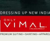 Reliance eyes Rs 1,800 cr sales from Vimal brand in 3 years
