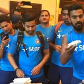 WATCH | #INDvAUS: The party doesn't stop for Virat Kohli and Co as hotel in Bengaluru gives grand reception