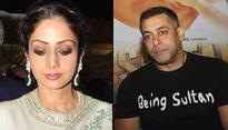 Sridevi and Salman Khan to work together soon. But its not what you think