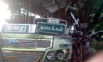 1 killed, 36 injured in two bus mishaps in Tiruchy district
